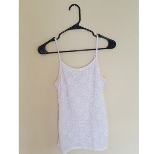 Floral lacey cami//tank top